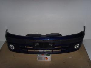 Renault Megane Scenic 1999-2003 προφυλακτήρας εμπρός μπλέ