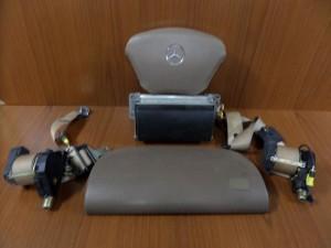 Mercedes ML w163 1998-2005 airbag μπέζ καφέ