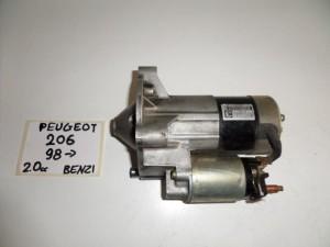 peugeot 206 98 2 0cc venzini miza 300x225 Peugeot 206 1998 2009 2.0cc βενζίνη μίζα