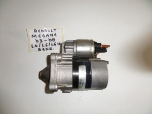 Renault Megane 2003-2010 1.4 k 1.6cc βενζίνη μίζα