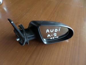 Audi A2 1999-2005 ηλεκτρικός καθρέπτης δεξιός μαύρος ματ