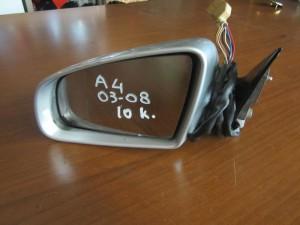 Audi A4 03-08 ηλεκτρικός καθρέπτης αριστερός ασημί (10 καλώδια)