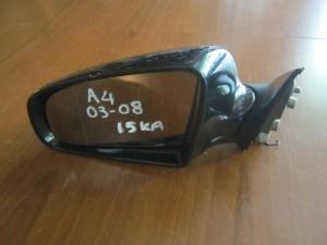 Audi A4 03-08 ηλεκτρικός καθρέπτης αριστερός μαύρος (15 καλώδια)