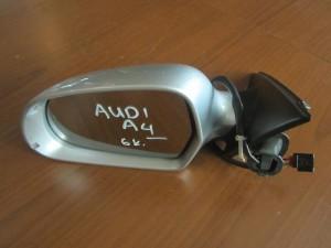 Audi A4 08-12 ηλεκτρικός καθρέπτης αριστερός ασημί (6 καλώδια)