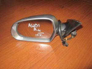 Audi A4 08-12 ηλεκτρικός καθρέπτης αριστερός ασημί σκούρο (10 καλώδια )