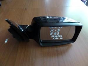 BMW X3 E83 2003-2010 ηλεκτρικός ανακλινόμενος καθρέπτης δεξιός μαύρος