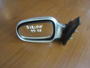 Daihatsu sirion 1998-2004 ηλεκτρικός καθρέπτης αριστερός ασημί (3 καλώδια)