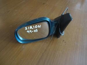 Daihatsu sirion 1998-2004 ηλεκτρικός καθρέπτης αριστερός πράσινος (3 καλώδια)