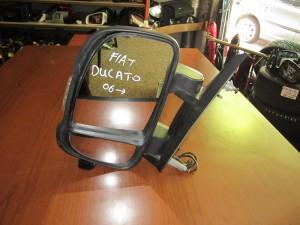 Fiat ducato-citroen jumper-peugeot boxer 2006-2017 απλός καθρέπτης με φλάς αριστερός άβαφος