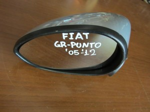 Fiat grande punto,fiat grande punto evo 2005-2015,fiat linea 2007-2015 ηλεκτρικός καθρέπτης αριστερός ασημί