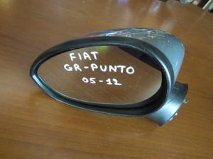 Fiat grande punto,fiat grande punto evo 2005-2015,fiat linea 2007-2015 ηλεκτρικός καθρέπτης αριστερός ασημί σκούρο