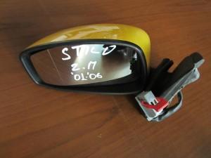 Fiat stillo 01-06 3θυρο ηλεκτρικός καθρέπτης αριστερός κίτρινος