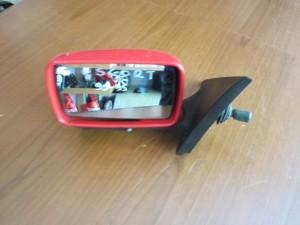 Ford Escort 1990-1995 καθρέπτης απλός αριστερός κόκκινος