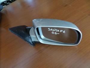 Hyundai sante fe 2006-2010 ηλεκτρικός καθρέπτης δεξιός ασημί (5 ακίδες)