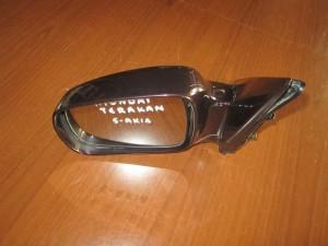 Hyundai terracan 2002-2007 ηλεκτρικός καθρέπτης αριστερός μπορντό (5 ακίδες)