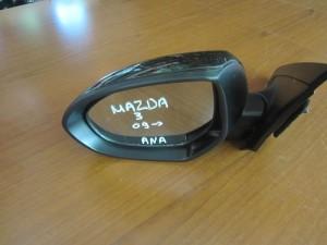 Mazda 3 2009-2013 ηλεκτρικός ανακλινόμενος καθρέπτης αριστερός μαύρος