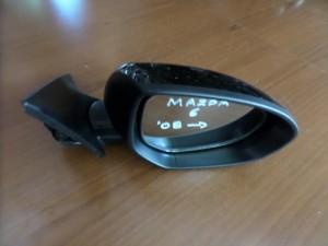 Mazda 6 2008-2012 ηλεκτρικός ανακλινόμενος καθρέπτης δεξιός μαύρος