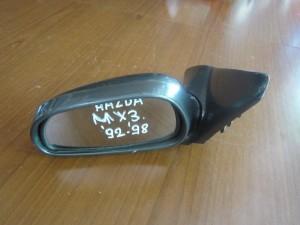 Mazda MX-3 1992-1998 ηλεκτρικός καθρέπτης αριστερός μαύρος
