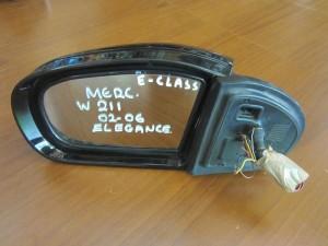 Mercedes E class w211 elegance 2002-2006 αντιθαμπωτικός καθρέπτης αριστερός μαύρος