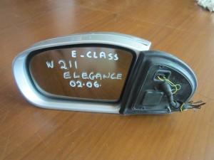 Mercedes E class w211 elegance 2002-2006 καθρέπτης αριστερός ηλεκτρικός ανακλινόμενος ασημί