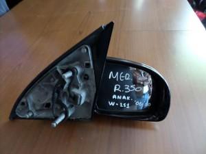Mercedes R Class w251 2006-2012 ηλεκτρικός ανακλινόμενος καθρέπτης δεξιός μαύρος