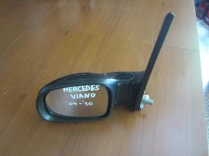 Mercedes viano w639 2004-2010 ηλεκτρικός ανακλινόμενος καθρέπτης αριστερός μαύρος