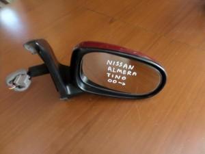 Nissan Almera Tino 2000-2006 ηλεκτρικός καθρέπτης δεξιός μπορντό