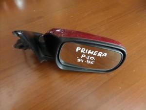 Nissan Primera P10 station wagon 1990-1995 ηλεκτρικός καθρέπτης δεξιός μπορντό