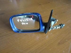 Skoda felicia 94 μηχανικός καθρέπτης αριστερός μπλέ