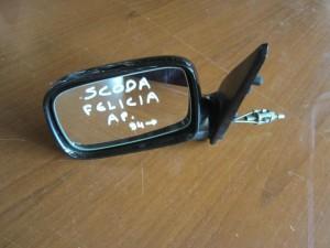 Skoda felicia 94 μηχανικός καθρέπτης αριστερός μαύρος