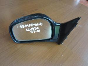 SsangYong musso 1993-2005 ηλεκτρικός καθρέπτης αριστερός μαύρος