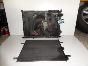 Alfa romeo spider-GTV 1994-2004 1.8cc-2.0cc βενζίνη ψυγείο κομπλέ (νερού-air condition-βεντιλατέρ)