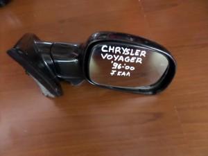 Chrysler voyager 2001-2007 ηλεκτρικός καθρέπτης δεξιός μαύρος (7 καλώδια)
