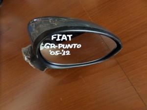 Fiat grande punto,fiat grande punto evo 2005-2015,fiat linea 2007-2015 ηλεκτρικός καθρέπτης δεξιός σκούρο ασημί