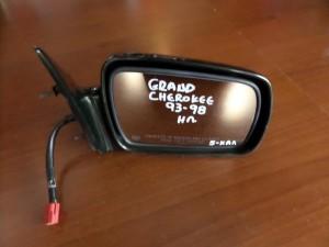 Jeep Grand Cherokee 1993-1998 ηλεκτρικός καθρέπτης δεξιός πράσινο-λαδί (5 καλώδια)