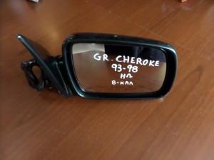 Jeep Grand Cherokee 1993-1998 ηλεκτρικός καθρέπτης δεξιός πράσινος (8 καλώδια)