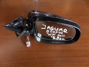 Jaguar XF 2007-2015 ηλεκτρικός ανακλινόμενος καθρέπτης δεξιός μαύρος (10 καλώδια)