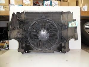 Jeep Cherokee 2002-2008 2.4cc-2.7cc βενζίνη ψυγείο κομπλέ (νερού-air condition-βεντιλατέρ-intercooler)