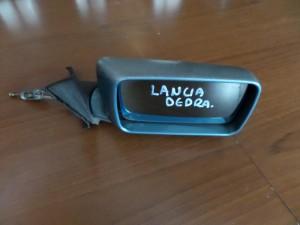 Lancia Dedra 1989-2000 μηχανικός καθρέπτης δεξιός γαλάζιος
