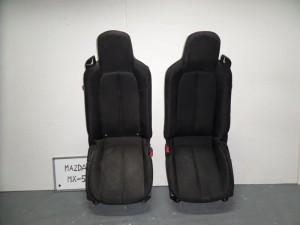 Mazda MX-5 2005-2009 κάθισμα εμπρός αριστερό-δεξί μαύρα