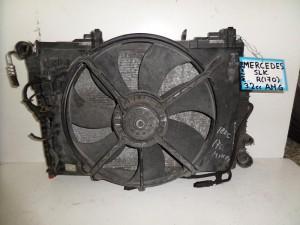 Mercedes Slk R170 1996-2003 3.2cc AMG βενζίνη ψυγείο κομπλέ (νερού automatic-air condition-βεντιλατέρ)