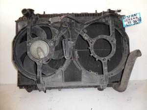 Nissan Serena 1992-2002 1.6cc-2.0cc βενζίνη ψυγείο κομπλέ (νερού-βεντιλατέρ)