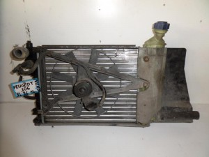 Peugeot 106 1992-1995 1.4cc βενζίνη ψυγείο κομπλέ (νερού-βεντιλατέρ)