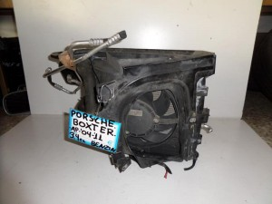 Porsche boxster 987 2004-2012 3.4cc βενζίνη ψυγείο κομπλέ (νερού-air condition-βεντιλατέρ αριστερό)
