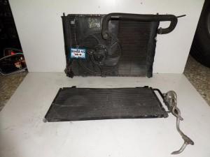 Rover 45 2000-2005 1.6cc diesel ψυγείο κομπλέ (νερού-air condition-βεντιλατέρ)