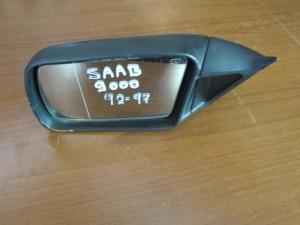 Saab 9000 92-97 απλός καθρέπτης αριστερός άβαφος