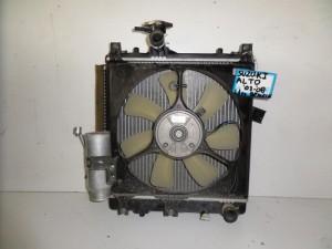 Suzuki alto 03-08 1.1cc βενζίνη ψυγείο κομπλέ (νερού-air condition-βεντιλατέρ)