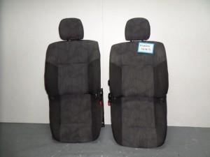Suzuki ignis 03 5θυρο κάθισμα με airbag εμπρός αριστερό-δεξί μαύρο-γκρί