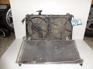 Suzuki liana 01 1.6cc βενζίνη ψυγείο κομπλέ (νερού-air condition-βεντιλατέρ)