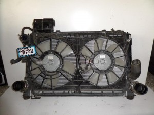 Toyota avensis 2003-2009 diesel 2.0cc ψυγείο κομπλέ (νερού-air condition-2 βεντιλατέρ-intercooler)